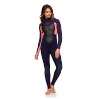 Roxy Prologue SS Back Zip 3 / 2 Kvinna våtdräkt