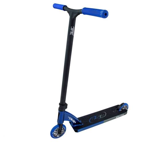 858 Talon MK-2 Spark Cykel - Blue/Chrome
